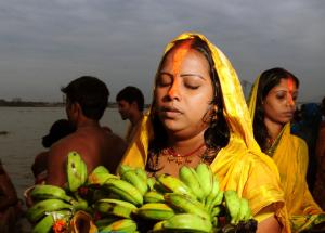 Ganges vrouw